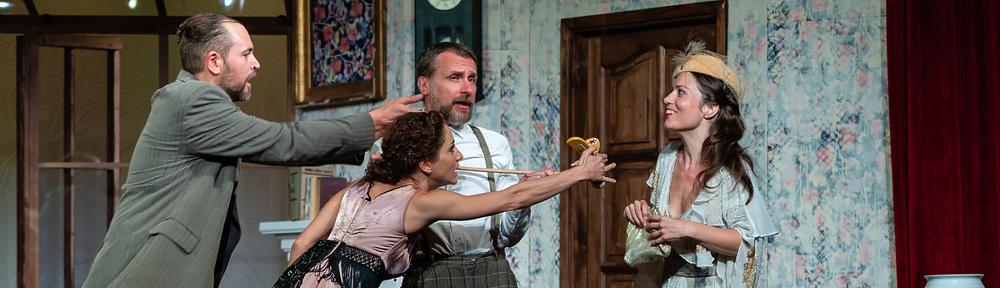Georges Feydeau: Esküvőtől válóperig - Váci Dunakanyar Színház, 2019, Fotó: Róde Péter