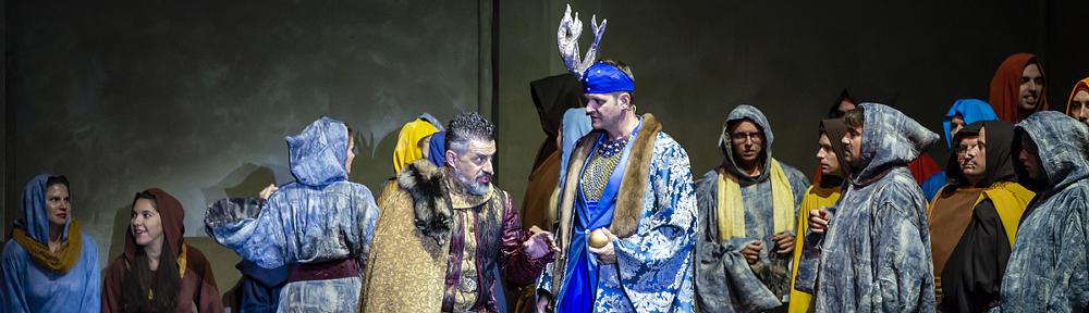 Bánk bán - Margitszigeti Szabadtéri Színház, 2020., Fotó: Róde Péter